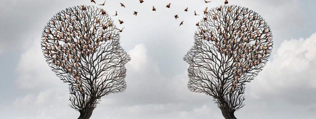 människor är speglingar av oss själva